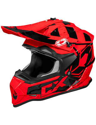 NEW! Castle X Mode MX Stance Helmet Red