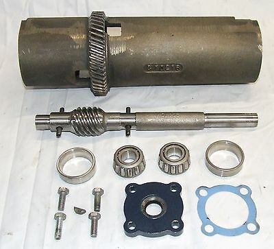 Quill Drive C10216 Worm Shaft 9847C 20570K Bearings Ammco 4100 7700 Brake Lathe