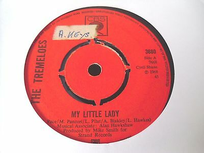 """The Tremeloes - My Little Lady  7""""  68  Vg"""
