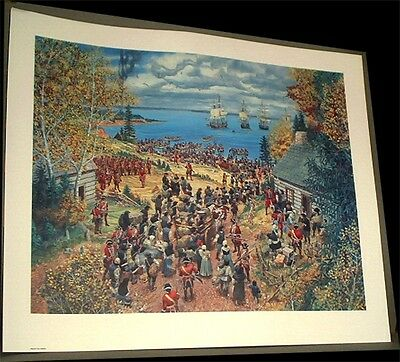 Expulsion of Acadians from Ile Saint-Jean~Lewis Parker