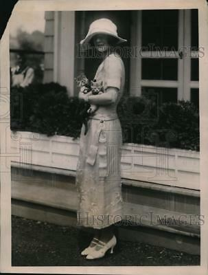 1922 Press Photo Miss Marie Norton