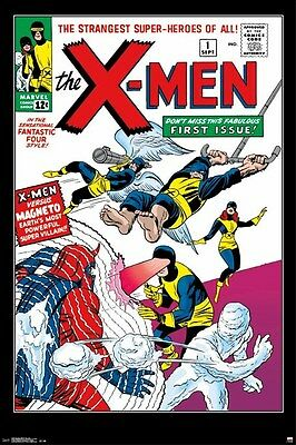 X-MEN ~ #1 COVER 24x36 COMIC ART POSTER Marvel Xmen Stan Lee Jack Kirby