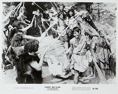 """Carry on Cleo Film Still 10"""" x 8"""" Photograph no 15"""