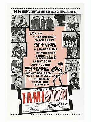 """The Beach Boys The Tami Show 16"""" x 12"""" Photo Repro Film Poster"""