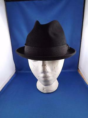 Mallory Hat Sam Snead Grey Fedora Canada Size 7 Felt Metal Accent W/ Box Tags
