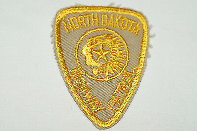 US Highway Patrol North Dakota Police Patch Small