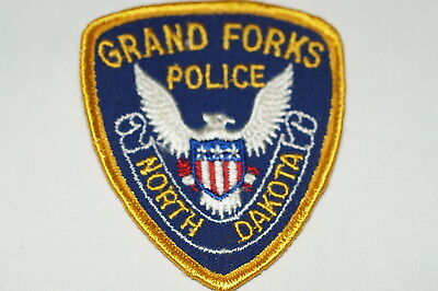 US Grand Forks North Dakota Police Patch Small