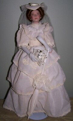 """HARD TO FIND """"FLORA"""" THE 1900's BRIDE PRODUCED IN 1990"""