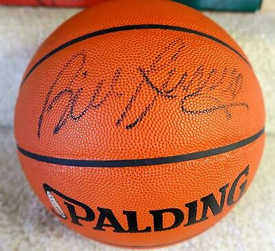 BILL RUSSELL BOSTON CELTICS AUTOGRAPHED Basketball UPPER DECK Authenticated UDA