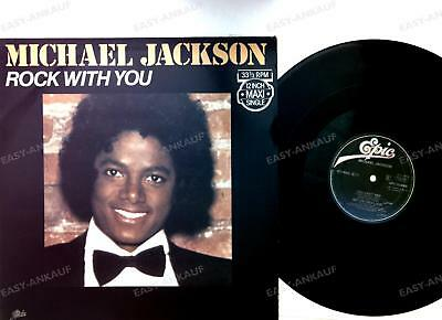 Michael Jackson - Rock With You NL Maxi 1979 Very Rare Original Dutch On /4