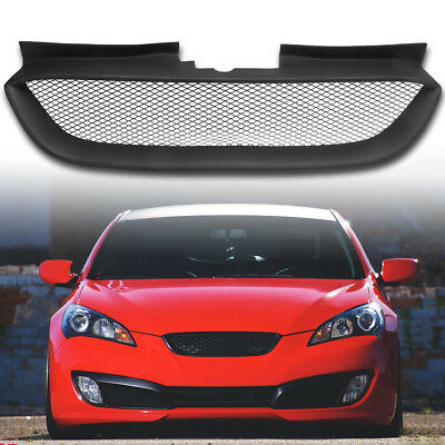 Front Hood Mesh Grille Bumper Grill For Hyundai Genesis Coupe 2008-2010-2012
