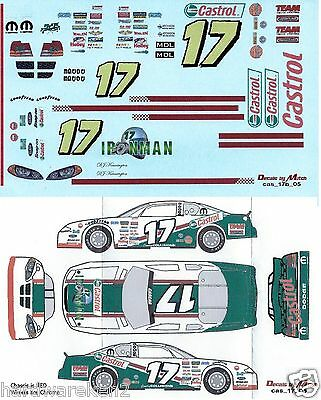Cascar Decal #17 Castrol Ironman 2005 Dodge - D.j. Kennington