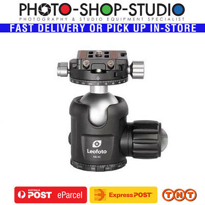 Leofoto Pro Ball Head with Panning Clamp NB-40 (Double-Action) Maximum Load:25kg