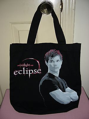 Eclipse - The Twilight Saga - tote bag (with Jacob Black on the cover)