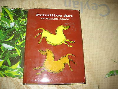 Primitive Art Leonhard Adams Hardback Book