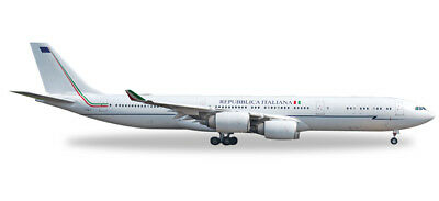 Herpa Wings 1:500 Airbus A340-500 Italian Air Force 31°Stormo Ciampiano 530385