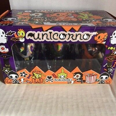 tokidoki unicorno halloween series 3-pack