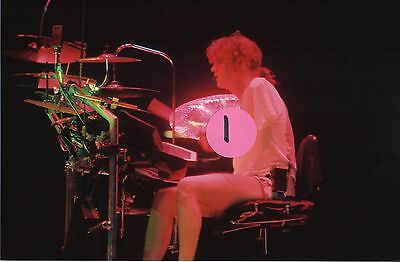 Def Leppard Rick Allen 5 - 4X6 Color Concert Photo Set #69A578