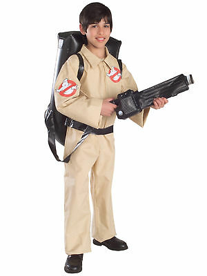 Ghostbusters Ghostbuster Ghost Busters 80s Movie Cartoon Licensed Boys Costume