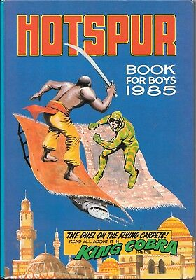 The Hotspur Book For Boys Annual 1985