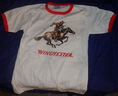 BR2041 WINCHESTER Short Sleeve T-shirt Medium Made in Canada by ITS Sportswear