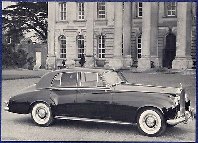 RF1453 61 Rolls-Royce Silver Cloud II Dealer Spec Card