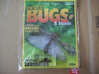 National Geographic Real-life Bugs & Insects magazine Issue 57