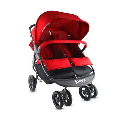 Joovy ScooterX2 Double Stroller - Red