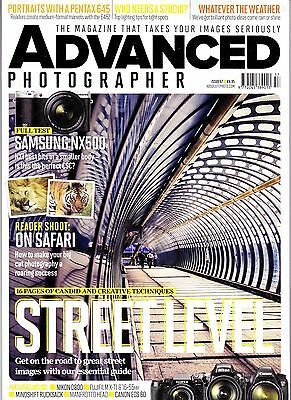 Advanced  Photographer magazine , Issue 57 , full test   Samsung NX5000