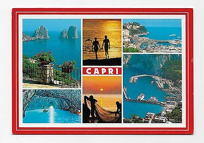 Postcard: Multiview -  Capri,  Italy