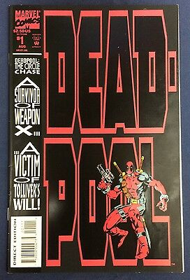 Deadpool The Circle Chase #1 : 1993 : Marvel Comics : Nicieza, Madureira