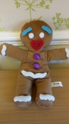 *Shrek Gingy Gingerbread Man Soft Puppet*Shrek The Musical*Fab Condition*2014*