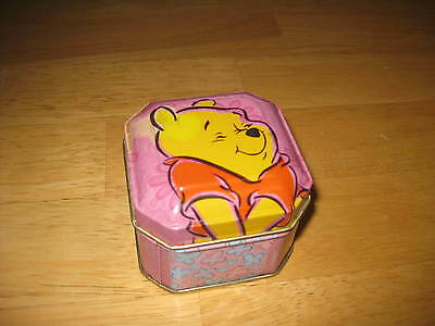 Disney Winnie the Pooh Scented Candle In Pink Collector Tin