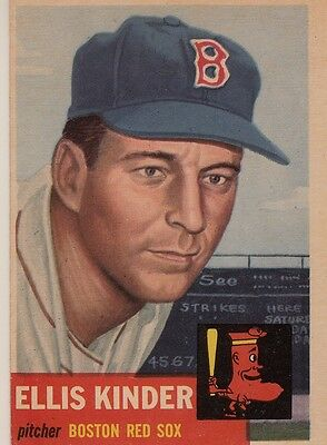 Topps 1953 #44 Ellis Kinder-Boston Red Sox