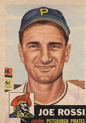 Topps 1953 #74 Joe Rossi-Pittsburgh Pirates