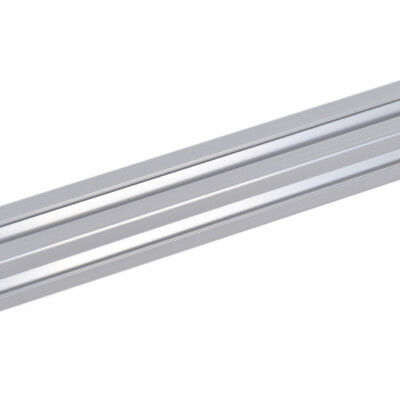 1 pc 2020 T-Slot Silver Aluminum Alloy Profile Extrusion Defense Framing 500mm