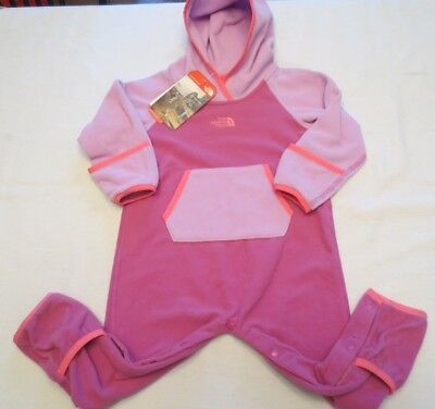 The North Face Infant Glacier One Piece Tnf Wisteria Purple Toddler 12-18 Months