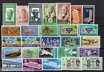 Nice Selection Of Nigeria   Mint Lh  (1705078)