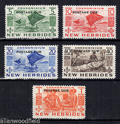 New Hebrides British  #j11-J15   Mint Lh  (1706134)