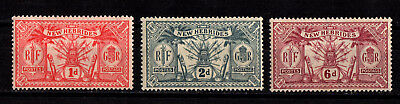 New Hebrides British  #33-37   Mint Lh  (1706140)