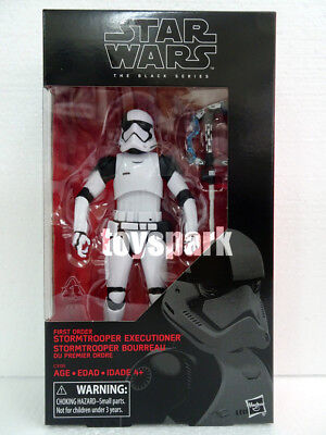 "STAR WARS Black Series 6"" FIRST ORDER STORMTROOPER EXECUTIONER Target Exclusive"