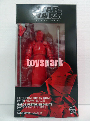 "STAR WARS Black Series 6"" ELITE PRAETORIAN GUARD w/ Heavy Blade Amazon Exclusive"