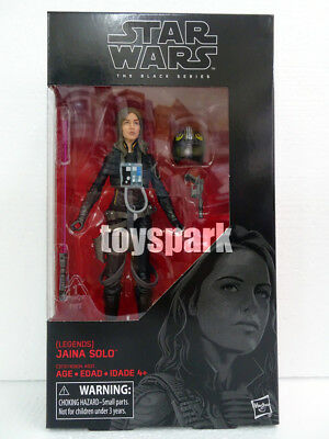 "HASBRO STAR WARS Black Series 6"" wave 14 The Last Jedi JAINA SOLO action figure"
