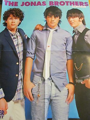 The Jonas Brothers, Kevin Jonas, Double Four Page Foldout Poster
