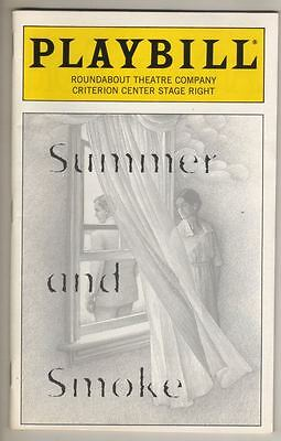 "Mary McDonnell & Harry Hamlin   Playbill  ""Summer and Smoke""  1996  Broadway"