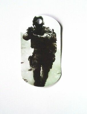 Duty Soldier - 8 Paper Dog Gift tags- Party Favor Loot Toys Prizes tag  -