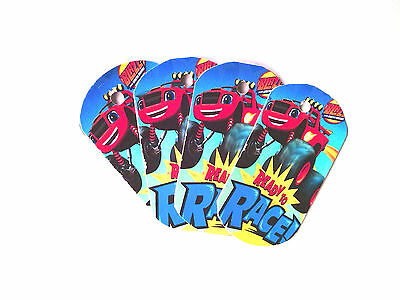 Blaze - 8 Paper Dog Gift tags- Party Favor Loot Christmas Toys Prizes tag