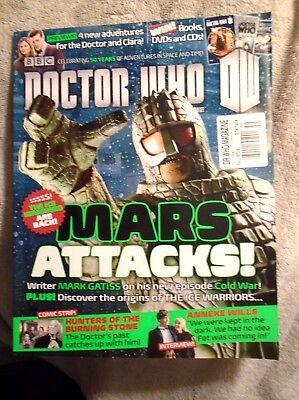 ** Doctor Who Magazine - Mars Attacks! - Issue 459, April 2013