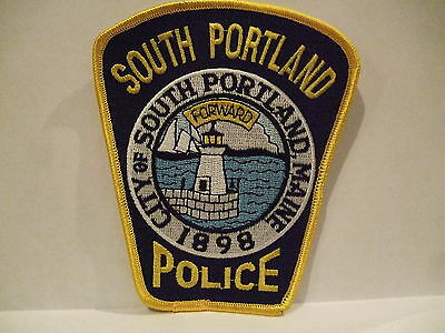 police patch  SOUTH PORTLAND POLICE MAINE