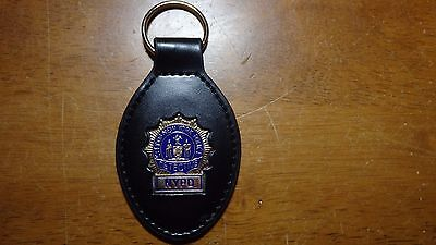 New York City Police Department Detective Mini Badge Key Chain Nycpd